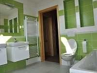 Koupelna s vanou - srub k pronajmutí Dolní Orlice - Červená voda