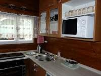 Kuchyňka - pronájem chaty Čenkovice