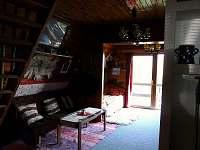 Obytná místnost - chata k pronajmutí Čenkovice