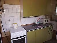 Ruská chata-kuchyně