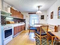 Kuchyň s jídejnou - apartmán ubytování Kunvald
