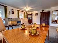 Společenská místnost - káva - apartmán ubytování Kunvald