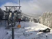 Skiareál Říčky v Orlických horách (20 min od chalupy) - zdroj: SkiRicky