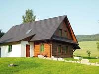 Za chalupou jsou už jen louky a les - pronájem Králíky - Dolní Boříkovice