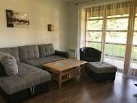 Rozkládací pohovka - apartmán k pronajmutí Říčky v Orlických horách