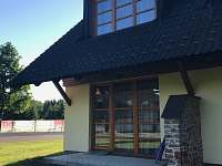 Terasa s nájezdem - apartmán k pronajmutí Říčky v Orlických horách