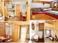 Chatka roubenka - apartmán ubytování Červená Voda