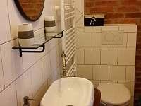 Chatka roubenka,koupelna.