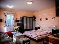 čtyřlůžkový dolní apartmán - k pronájmu Přibyslav