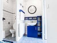 koupelna dolního apartmánu - k pronájmu Přibyslav