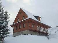 Chalupa Anna v zimě - pronájem Dolní Morava