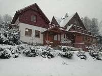 Chata v zimě - k pronájmu Čenkovice