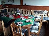 hospůdka pro ubytované hosty - chata ubytování Čenkovice