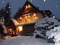 Krásně sněží v roce 2015 - Čenkovice