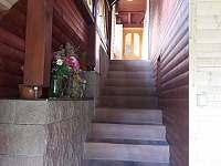 Vstupní schody - chata ubytování Čenkovice