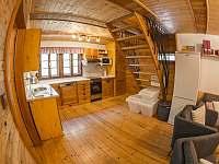 kuchyň - chalupa ubytování Kunvald