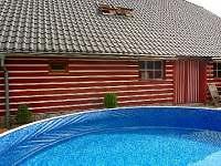 bazén - chata k pronajmutí Orlické Záhoří