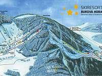 Ski Buková Hora - Čenkovice & Červená Voda - 15km - Nekoř