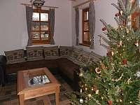 Obývací světnice - pronájem chalupy Sedloňov