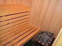 finská sauna - pronájem chalupy Ohnišov
