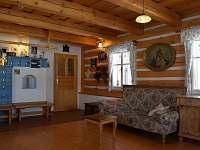 Stylově zařízený interier - chalupa ubytování Ohnišov