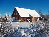 Zima na chalupě - ubytování Ohnišov
