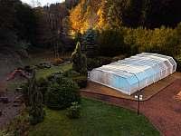 Chalupa Hartman - bazén 5x10m - pronájem Olešnice v Orlických horách - Rzy
