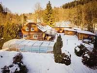 Chalupa Hartman v zimě - Olešnice v Orlických horách - Rzy