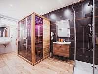 Koupelna č.2 s infrasaunou v 1 NP - Olešnice v Orlických horách - Rzy