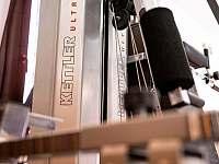 Kvalitní posilovací stroje Ketler - chalupa k pronajmutí Olešnice v Orlických horách - Rzy