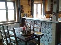 Barový pult - chalupa ubytování Říčky v Orlických horách