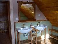 horní koupelna - pronájem chalupy Říčky v Orlických horách