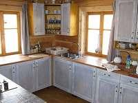 kuchyně - chalupa k pronájmu Říčky v Orlických horách