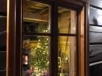 romantika večera - chalupa k pronajmutí Říčky v Orlických horách