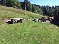 zadní ohniště - Říčky v Orlických horách