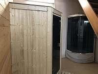 Chalupa u Hejnic Orlický hory sauna -