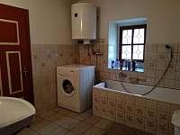 Koupelna - pronájem chalupy Zdobnice - Kunčina Ves
