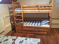 Třílůžková palanda + manželská postel v apartmánu - Klášterec nad Orlicí