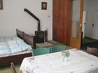 ložnice 2 - chalupa ubytování Skuhrov nad Bělou
