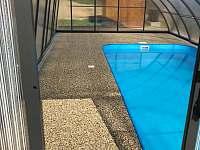 Bazén - chata ubytování Červená Voda - Mlýnice