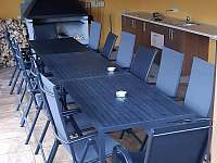 Posezeni - chata ubytování Červená Voda - Mlýnice