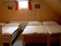 4 lůžkový pokoj v patře
