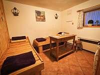 odpočívárna u sauny - Zdobnice