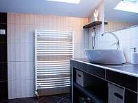 Koupelna, wc - pronájem apartmánu Mistrovice