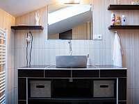 Koupelna, wc - apartmán ubytování Mistrovice