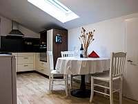 Kuchyně - apartmán k pronajmutí Mistrovice