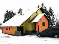 chata v zimě - chalupa ubytování Dolní Morava