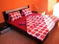 Ložnice č.1 v apartmánu č.1 - ubytování Pastviny