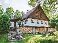 Levné ubytování Vodní nádrž Pastviny Chalupa k pronajmutí - Bartošovice v Orlických horách