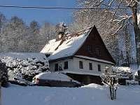 zima - pronájem chalupy Bartošovice v Orlických horách